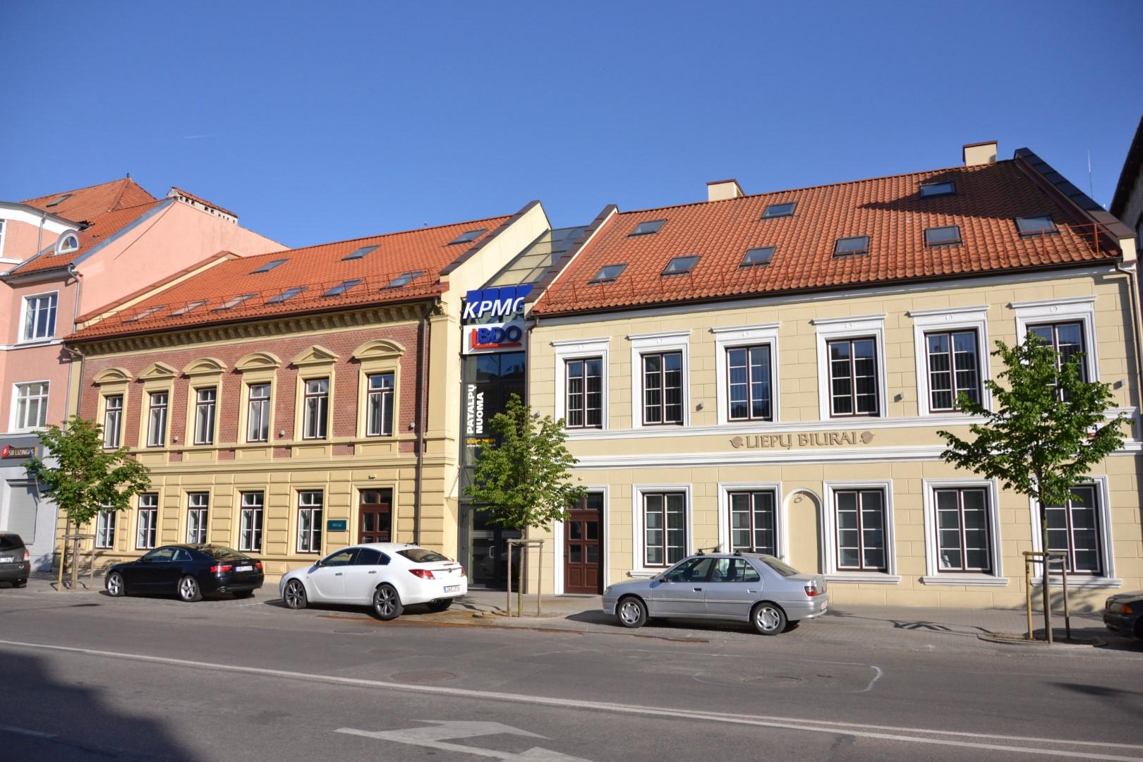 Liepų g. fasadas 1